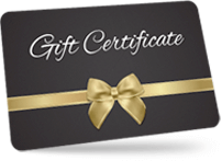 gift certificate card for Tennessee B&B