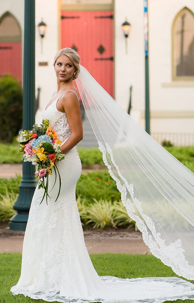 bride at our wedding venue in West Tennessee