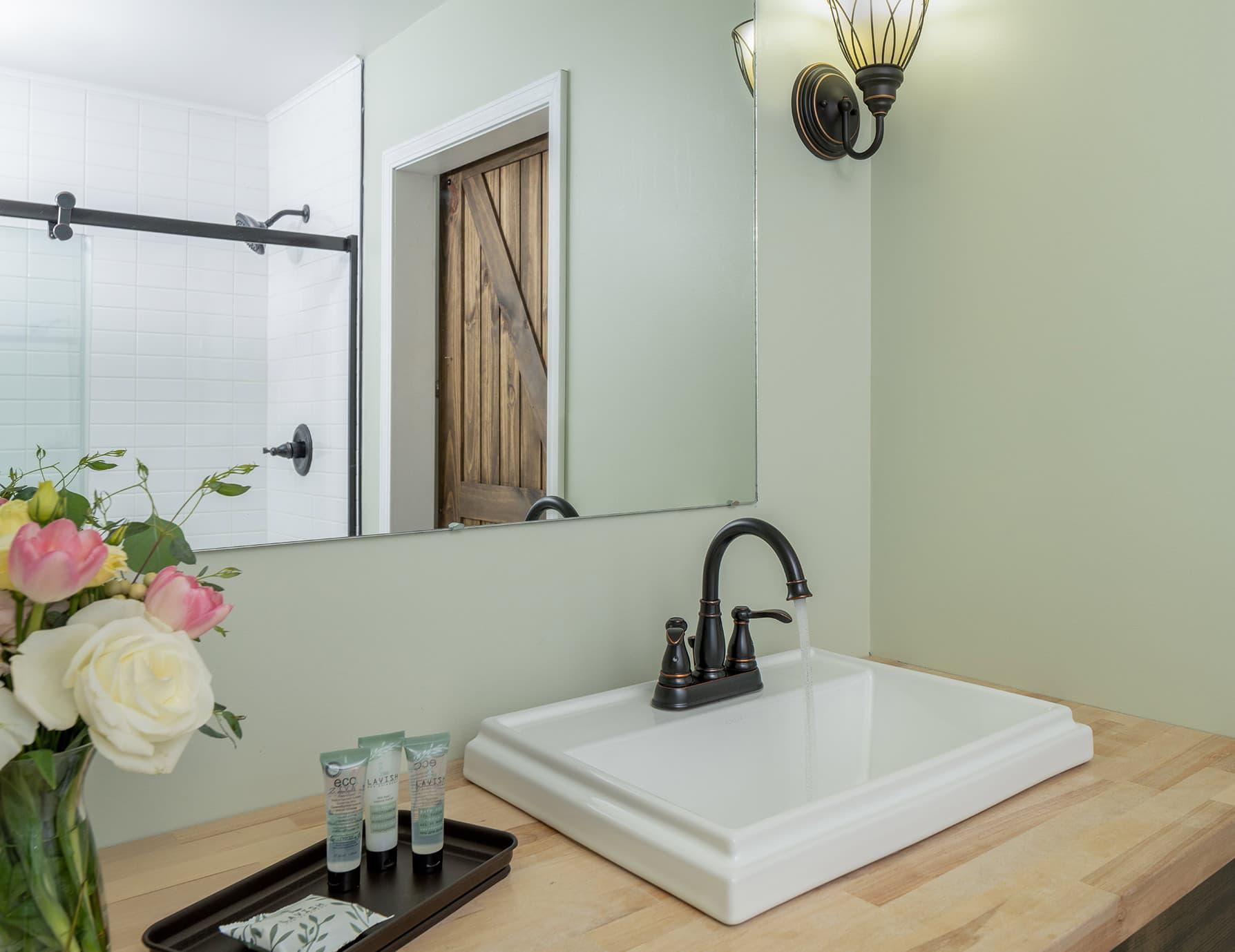 Suite Magnolia bathroom sink