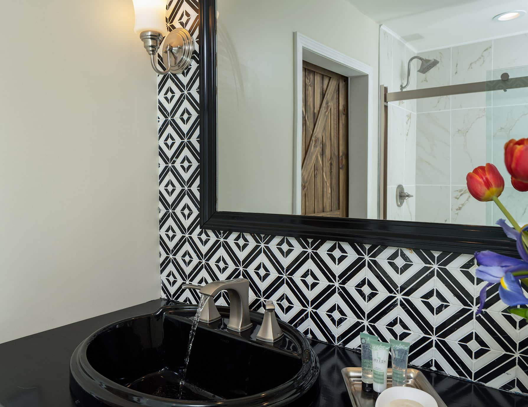 The Wellington room bathroom sink