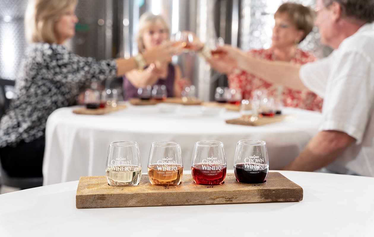 Crown Winery wine tasting - West Tennessee Travel Guide