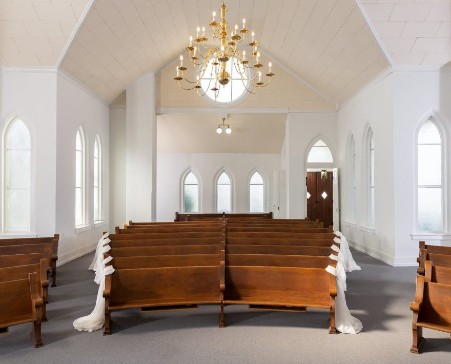 Pews in the Chapel